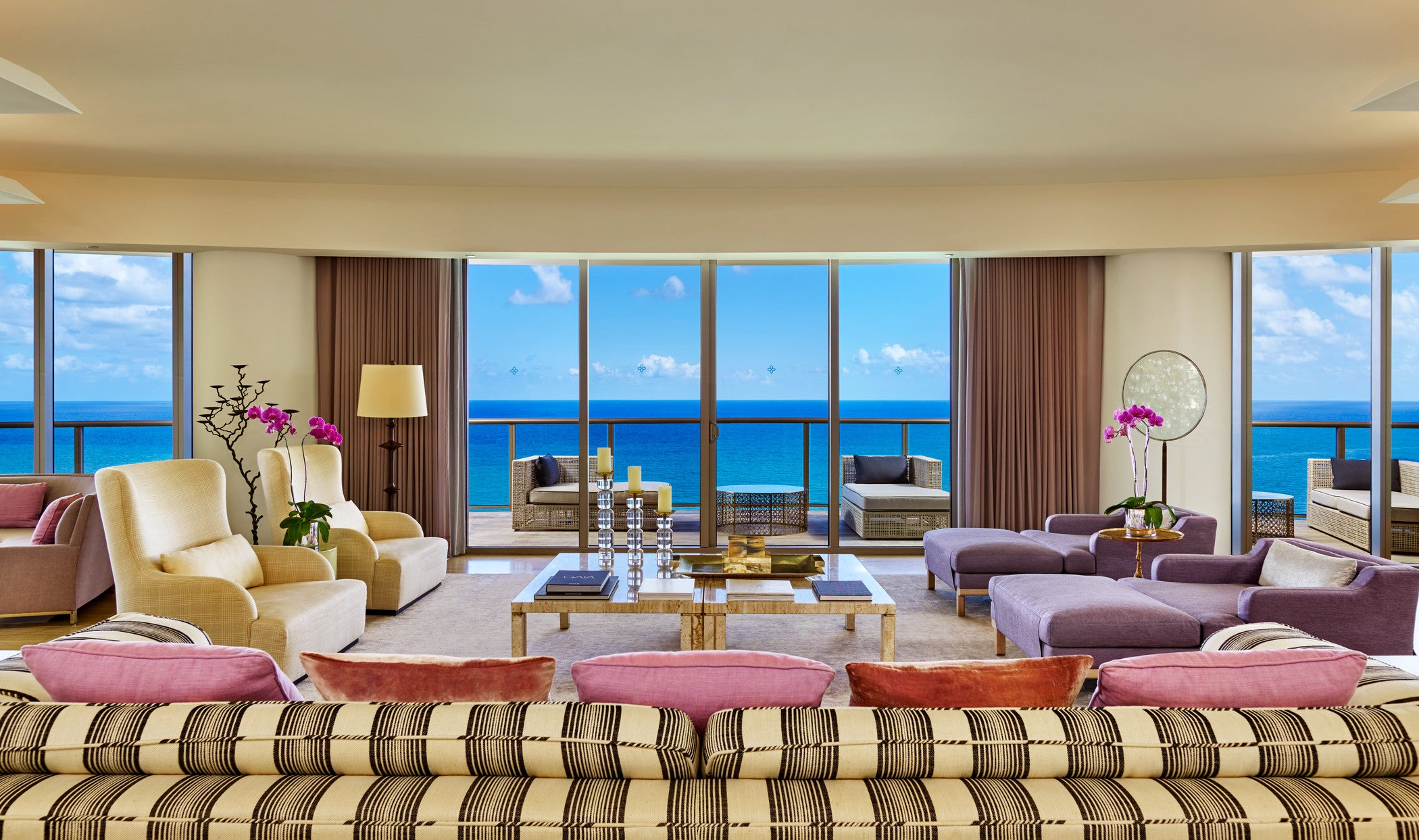 View from St. Regis Bal Harbour Resort's presidential suite