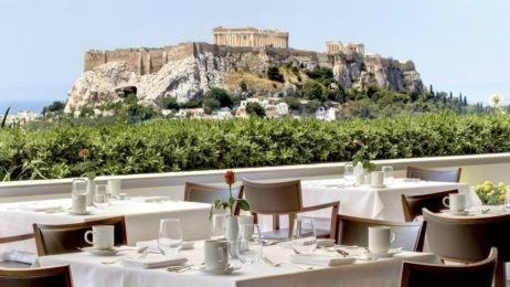 GB Roof Gardens - best restaurants in athens