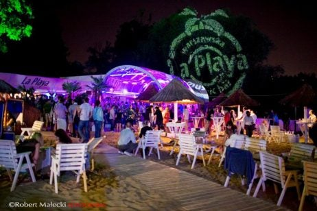 la playa - best things to do at night in warsaw