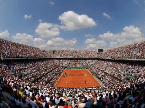 INTERNATIONAUX DE ROLAND-GARROS