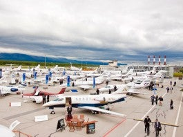 EBACE OUTDOOR EXHIBITION
