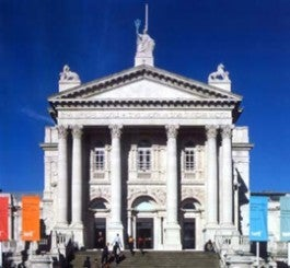 Front of Tate Britain building