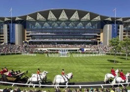 Horses at Royal Ascot grand picture