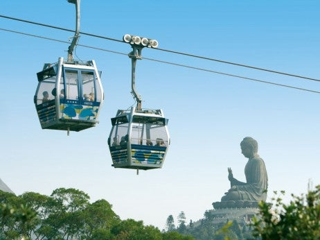 ENJOY A RIdE ON THE CAbLE CAR
