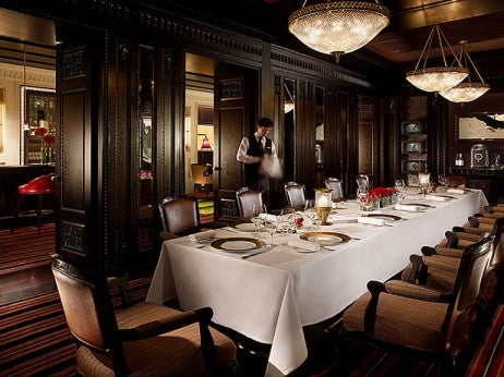elite destination guide | Hong kong 16 PRIVATE dININg AT cAPRIcE