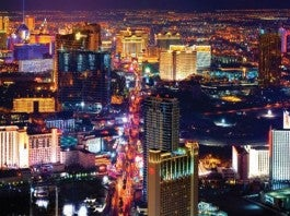 The Bright Lights of the Las Vegas Strip