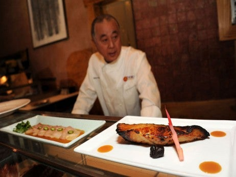 Chef-Nobu-Matsuhisa-presents-a-traditional-Japanese-style-of-cooking