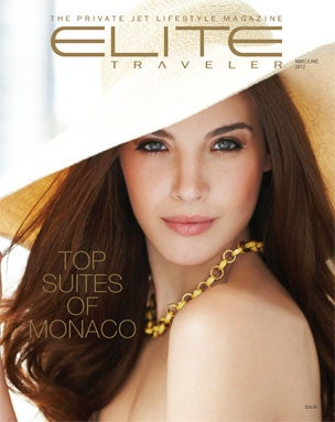Elite Traveler Magazine Cover April 2012