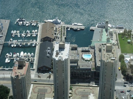 ENJOY ALL THE EXCITEMENT OF THE HARBOURFRONT  WHEN YOU BERTH YOUR YACHT AT JOHN QUAY