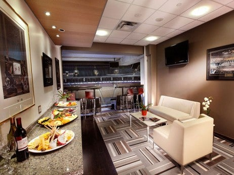 EXECUT IVE SUITE AT THE AIR CANADA CENTRE