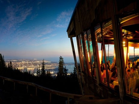 Show Sto Pping Views An D Elegant Fine Dining At Grouse Mountain