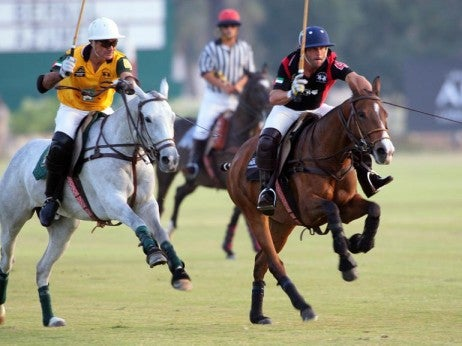 H.H. President of the UAE Polo Cup Grand Final