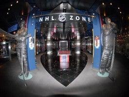 FORMAL DINING HOCKEY FUN AT THE HALL OF FAME