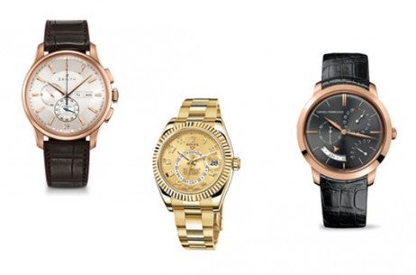 Horology luxury watches with dates