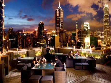 "ranKed no. 7 of the ""the World's 20 best sKy bars"" by uK – the sunday times"