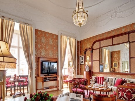 Lidval Suite At Grand Hotel Europe