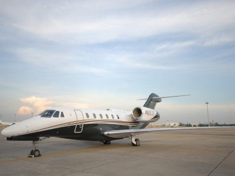 MJETS private jet terminal at Don Mueang Airport