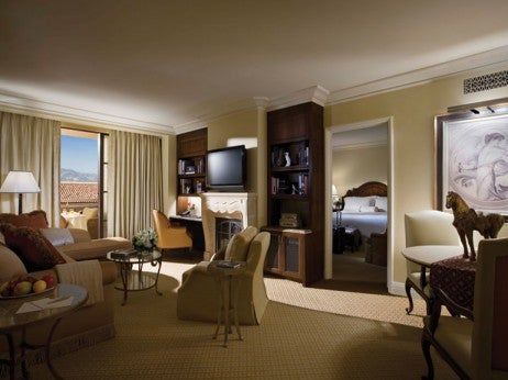 The presidential suite at the Mont age Beverly hills