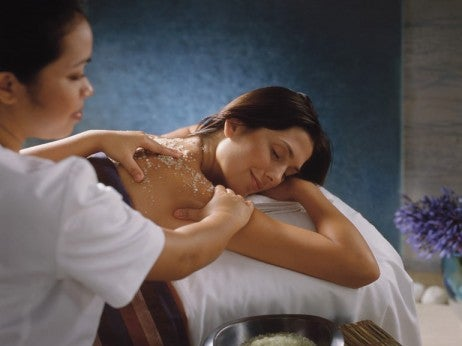 Relax and unwind at the Four Seasons Spa