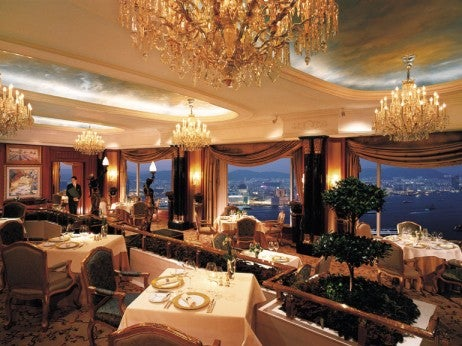 OUTSTANDING VIEWS FROM THE RESTAURANT PETRUS DINING ROOM