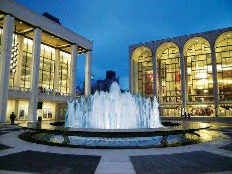 revson fountain at lincoln center - best things to do at night in new york