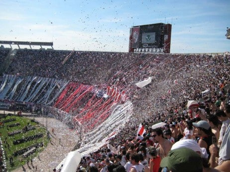 RIVER PLATE AT ESTADIO MONUMENTAL