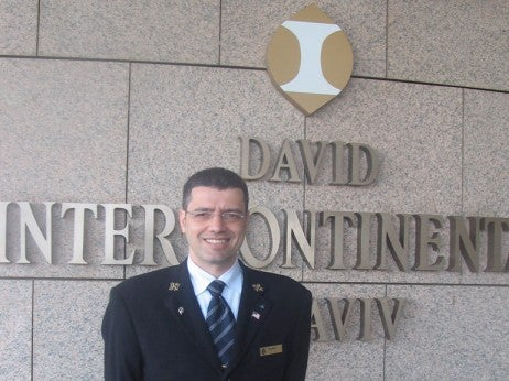 Ronen Alkelai , Concierge at the David Intercontinental