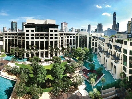 Exterior View of Siam Kempinski Hotel
