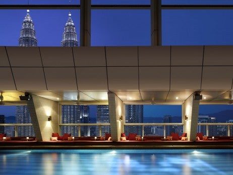 Skybar at the shangri-la hotel - Best Things to Do at Night in Kuala Lumpur