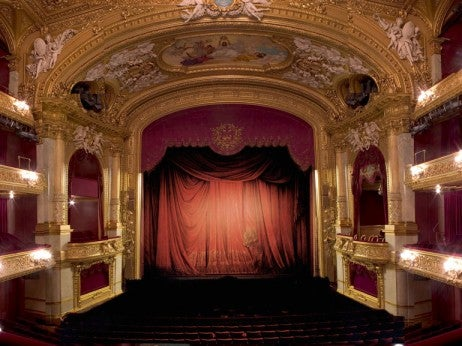 The Grand Theater At The Operan
