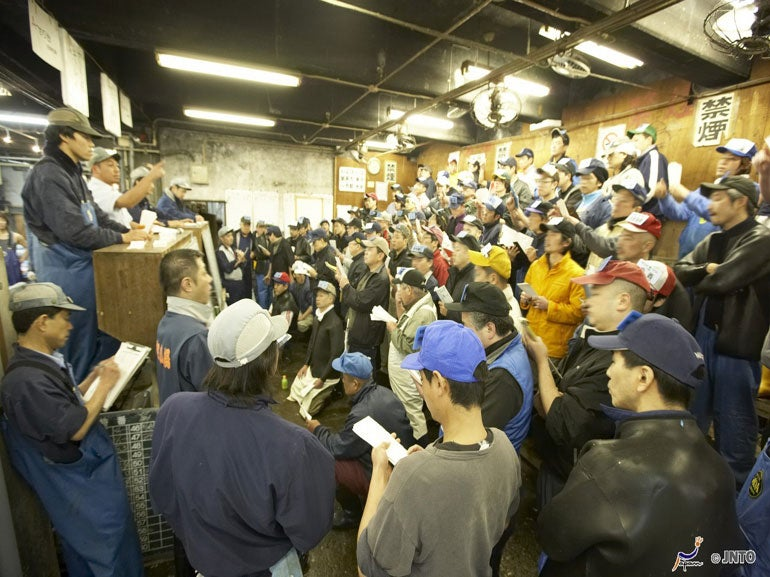 DAIly AUcTIOn AT THE FISH MARKET