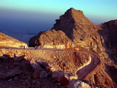 Jebel Hafeet Mountain