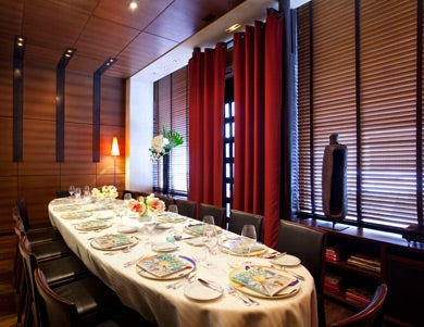 Private room, restaurant Guy Savoy © Stevens Fremon