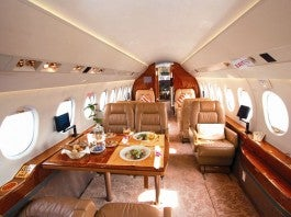 Air Charter Professional, Falcon 2000