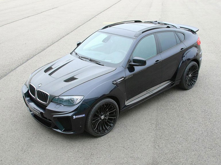 BMW X6 MG Power Typhoon WideBody