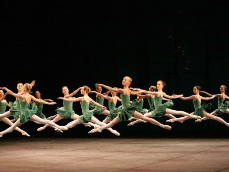 BALLET AT THE BOLSHOI THEATRE