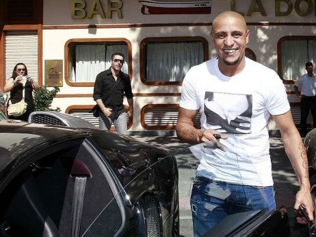 Roberto Carlos - The highest profile buggati veyron owners