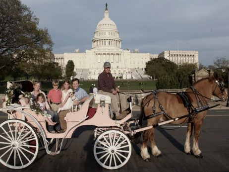 Carriage ride through DC