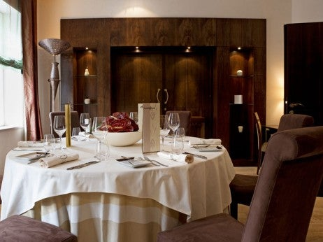 DINNER IN THE PRESIDENTIAL SUITE, MAMAISON HOTEL LE REGINA WARSAW