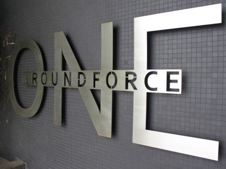 GROUND FORCE ONE TERmINAL ENTRANCE