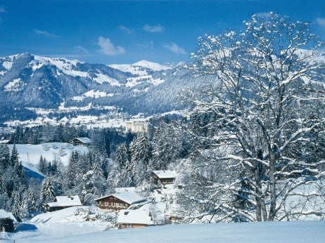 GSTAAD IN WINTER