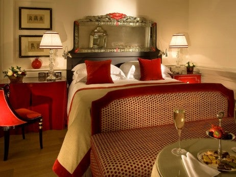 a Deluxe Double Room At Hotel Hass ler