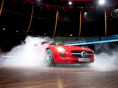 Unveiling The Mercedes Sls Amg At The Iaa Frankfurt Motor Show