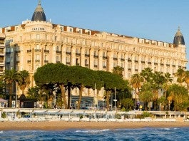 Intercontinental Carlton Cannes Sean Connery