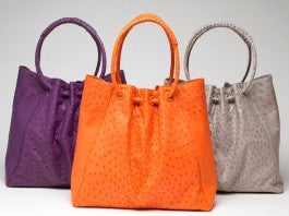 Leather Hand Bags From The Scuola Del Cuoio