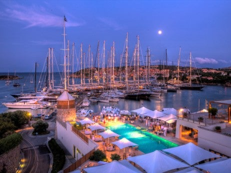 PORTO CERVO AND THE YCCS CLUBHOUSE