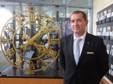 PHILIPPE CHRISTEN, FIRST CONCIERGE, SWISSÔTEL LE PLAZA BASEL