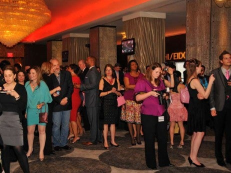 Pink Tie Party at the Mayflower Renaissance washington, dc Hotel
