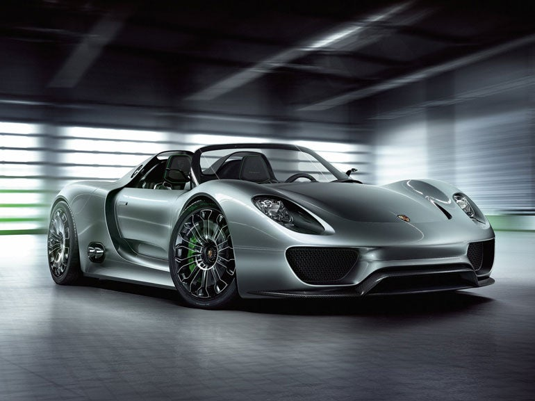 The 10 Fastest Porsches Of All Time