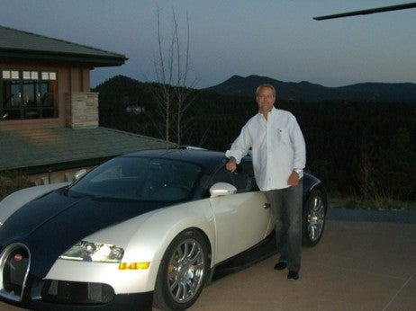 Richard berry - The highest profile buggati veyron owners